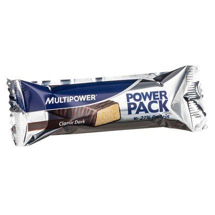 Multipower Power Pack klassisk mørk sjokolade, energibar