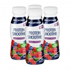 4 x Multipower Protein Smoothie Raspberry Blueberry