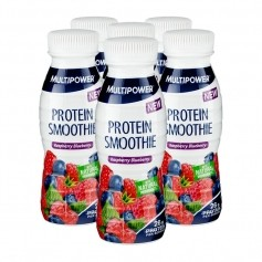6 x Multipower Protein Smoothie Raspberry Blueberry