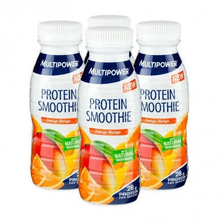 4 x Multipower Protein Smoothie Orange Mango