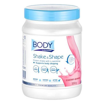 Multipower Shake & Shape Cherry-Banana Powder