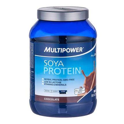 Multipower Soya Protein Schoko, Pulver