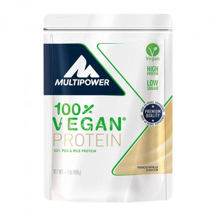 Multipower Soya Protein, Vanille, Pulver