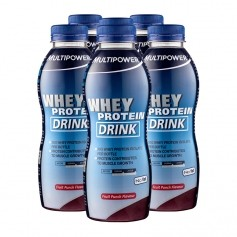 6 x Multipower Whey Protein Drink Fruit Punch