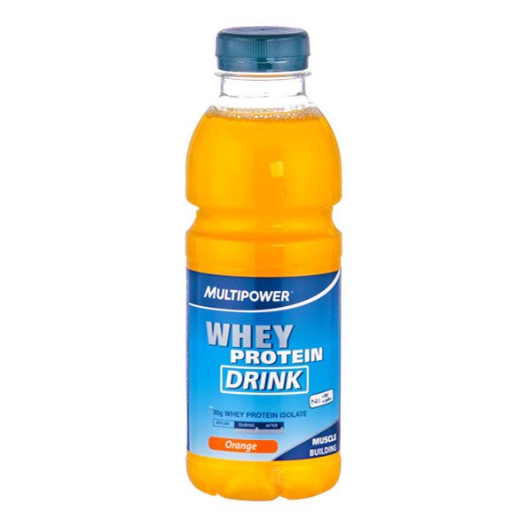 Multipower Whey Protein Drink Orange For Quick Protein