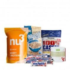 Muskelaufbau-Tagespaket für Einsteiger