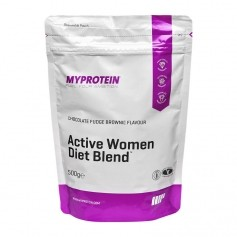 MyProtein Active Woman Diet Blend, Chocolate Fudge Brownie