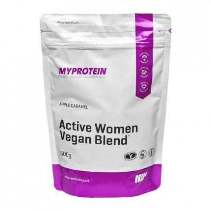 MyProtein Active Women Vegan Blend, Apfel-Karam...
