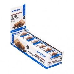 MyProtein Vegan Protein Riegel, Choc Chip, Nut & Vanilla