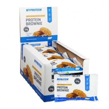 MyProtein White Chocolate Brownie