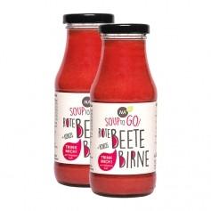 NAbio Bio Soup to go, Rote Beete-Birne-Kokos