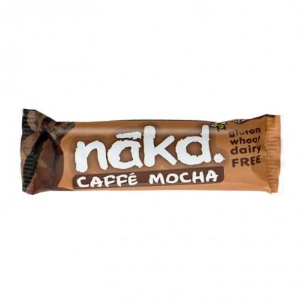 4 x Nakd Caffe Mocha Bar