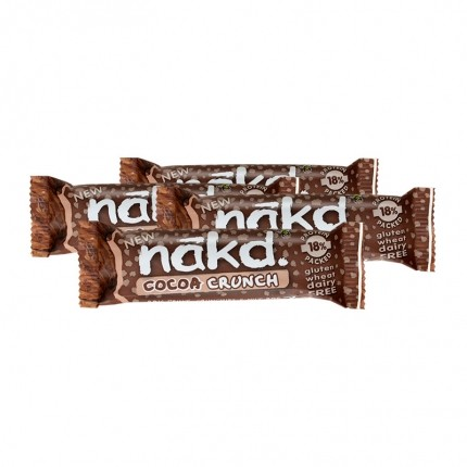 4 x Nakd Cocoa Crunch Bar