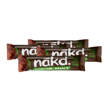 4 x Nakd Cocoa Mint Bar