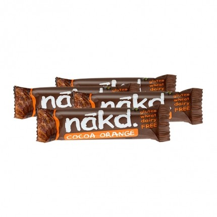 4 x Nakd Cocoa Orange Bar