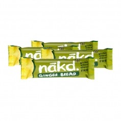 4 x Nakd Ginger Bread Bar