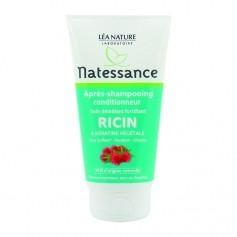 Natessance Après-shampooing conditionneur à l'huile de ricin et kératine végétale Castor oil & plant-derived keratin shampoo conditioner