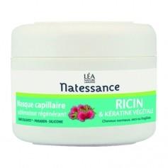 Natessance Masque capillaire sublimateur régénérant Ricin et Kératine végétale Vitalizing castor oil & plant-derived keratin mask