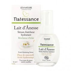 Natessance Sérum fraîcheur hydratant lait d'ânesse Fresh hydrating serum - donkey milk