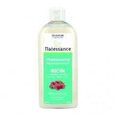 Natessance Shampooing réparateur fortifiant Ricin et Kératine végétale Vitalizing and repairing castor oil & plant-derived keratin shampoo