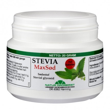 Natur-Drogeriet STEVIA MaxSød
