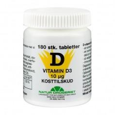 Natur-Drogeriet D-vitamin 10 µg