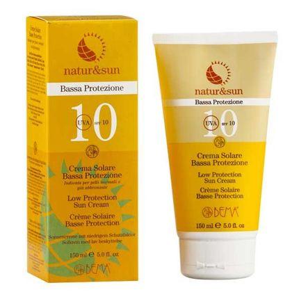 Natur & Sun Bio Sonnenschutz Creme LSF 10