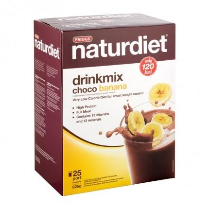 Naturdiet Drinkmix ChocoBanana 25-p