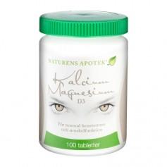 Naturens Apotek Kalcium/Magnesium+D-vitamin 100t