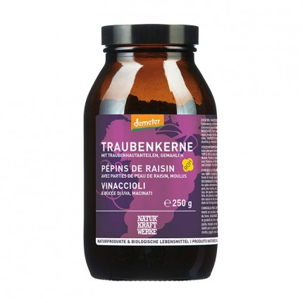 Naturkraftwerke Organic Ground Grape Seed