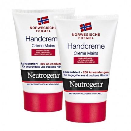 Neutrogena Norwegische Formel Unparfümierte Handcreme Doppelpack