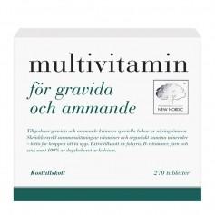 Multivitamin gravida/ammande 270t