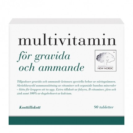 Multivitamin gravida/ammande 90t