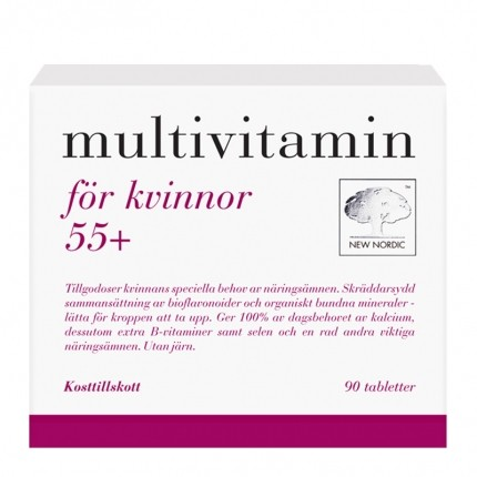 Multivitamin kvinnor+55 90t