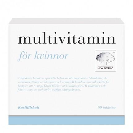 Multivitamin kvinna 90t