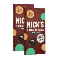 2 x Nutri-Nick Stevia Schokolade Dark Hazelnut