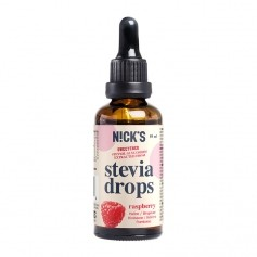 Raspberry Stevia Drops (hallon)