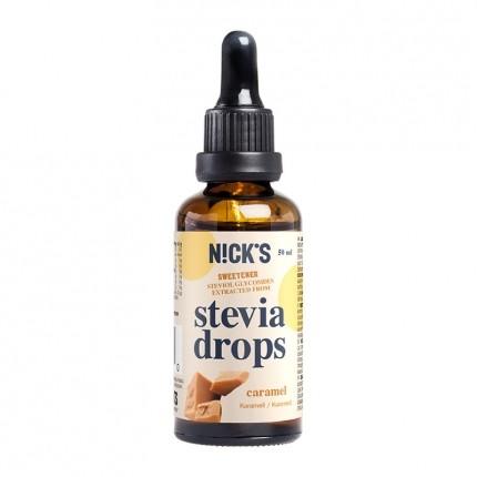Caramel Stevia Drops (karamell)