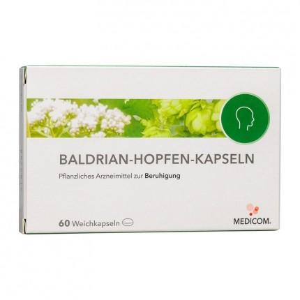 Nobilin Beruhigungs Dragee mit Baldrian Hopfen (60 Kapseln)