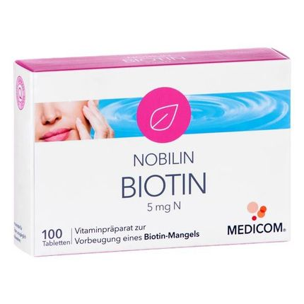 Nobilin Biotin 5 mg N, Tabletten