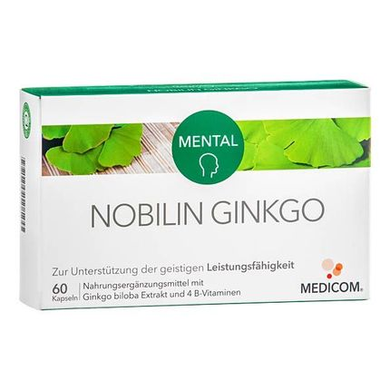 Nobilin Ginkgo, Kapseln