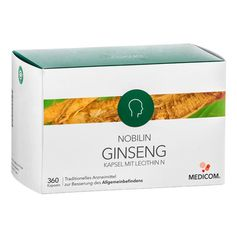 Nobilin Ginseng with Lecithin Capsules
