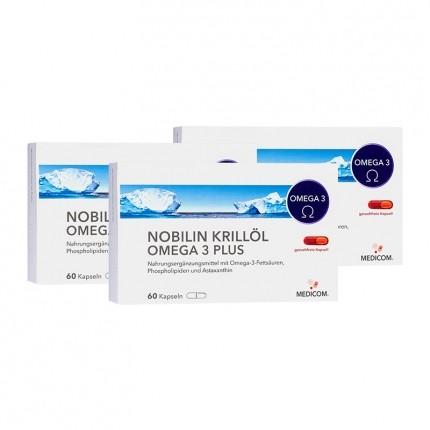 Nobilin, Huile de krill Omega 3 Plus, gélules