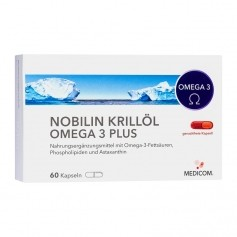 Nobilin Krill Oil Omega-3 Plus Capsules