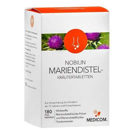 Nobilin Mariendistel-Kräutertabletten