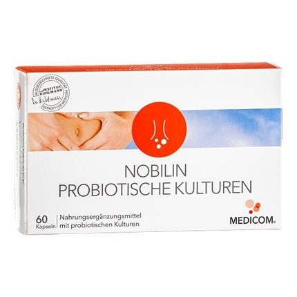 Nobilin Probiotic Cultures Capsules