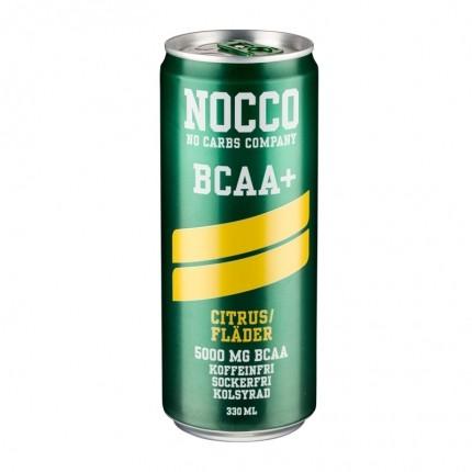 6 x NOCCO Citrus Hyldebær 330ml