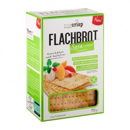 8 x NorCrisp Soja Flachbrot