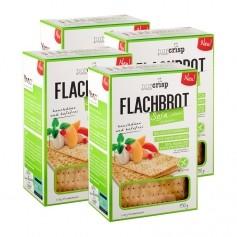 4 x NorCrisp Soja Flachbrot