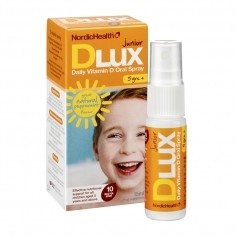 DLux Junior 10 mcg D3 vitamiinisuihke 15 ml